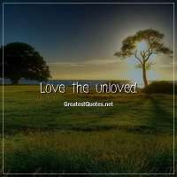 Love the unloved